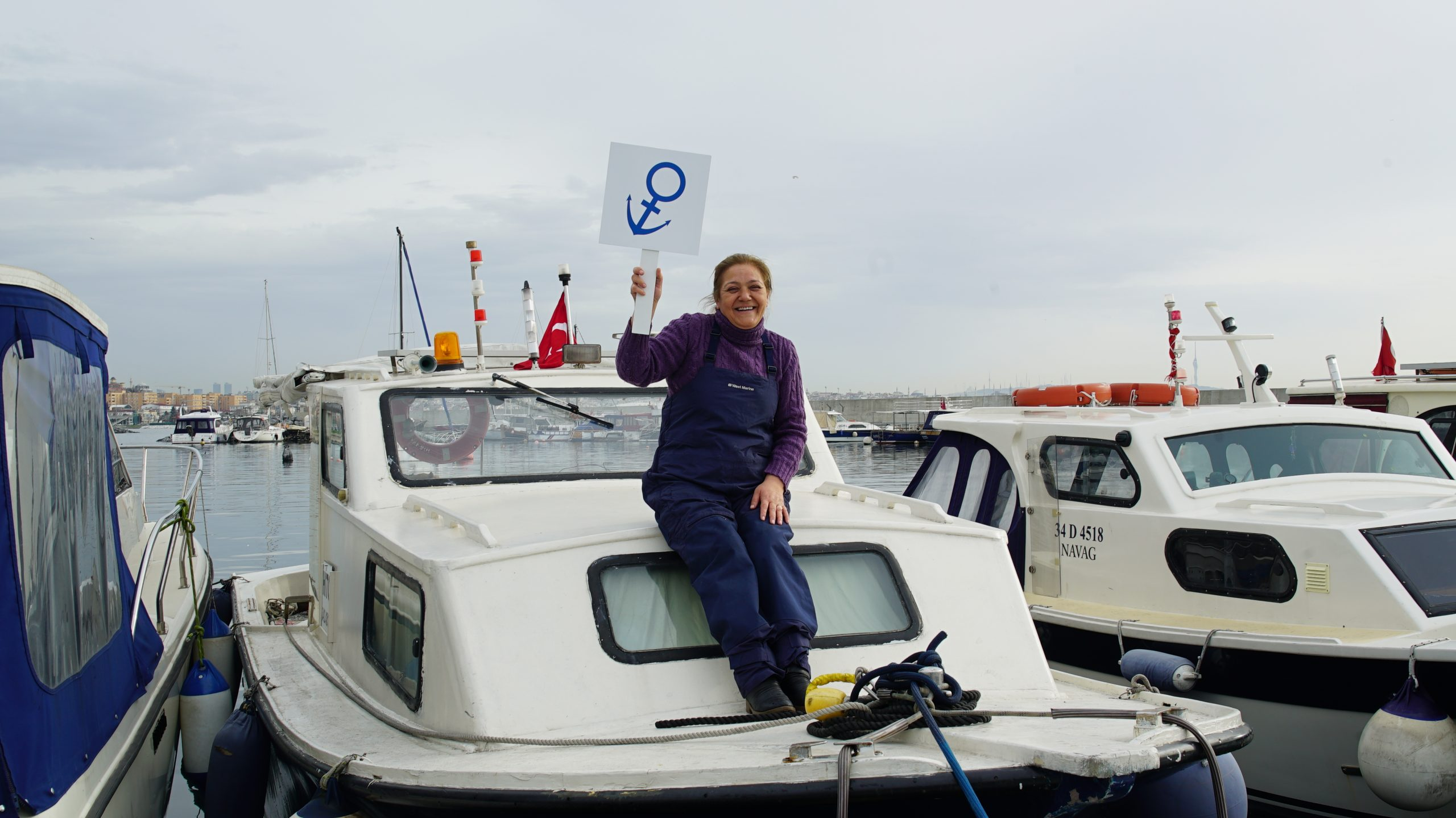 balıkçı kadın