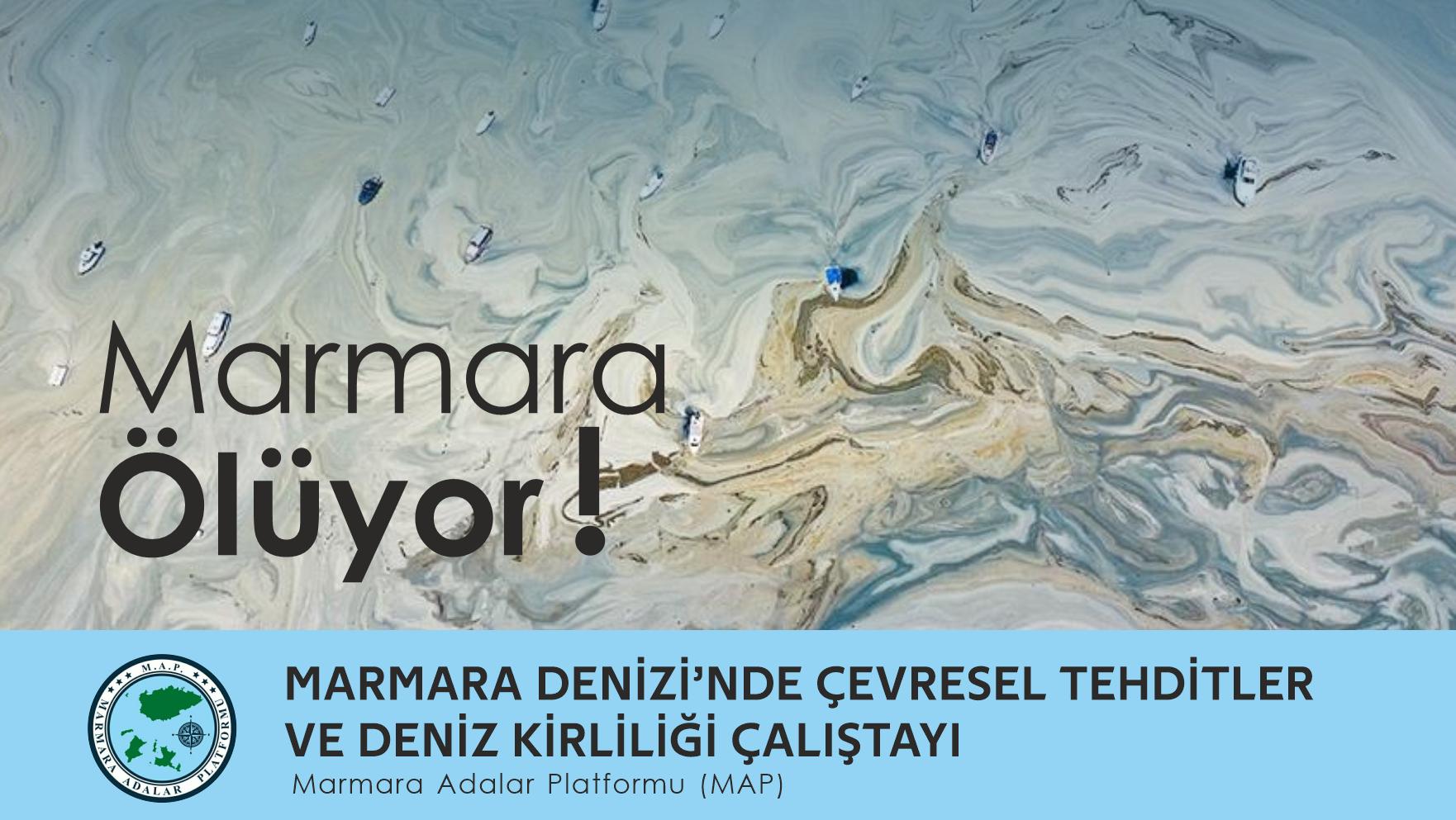 Marmara Denizinde Çevresel Tehditler ve Deniz Kirliliği Çalıştayı